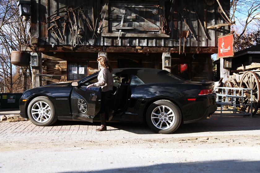 Chevrolet Camaro Road Trip