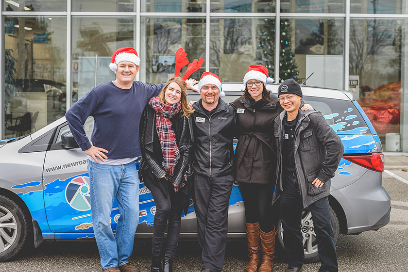 NewRoads Mazda Holiday Cheer