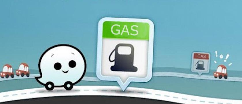 Waze App Gas Stations