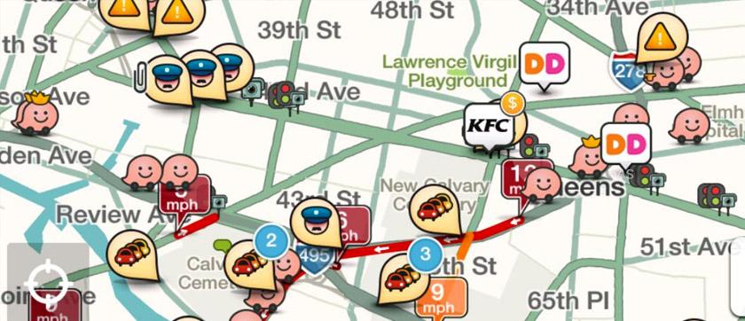 Waze App Traffic