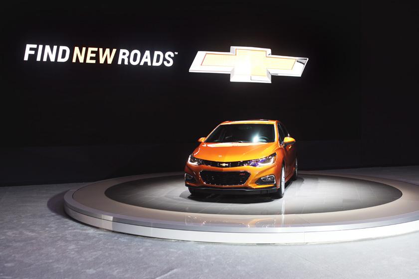 2016 Toronto Auto Show Chevrolet