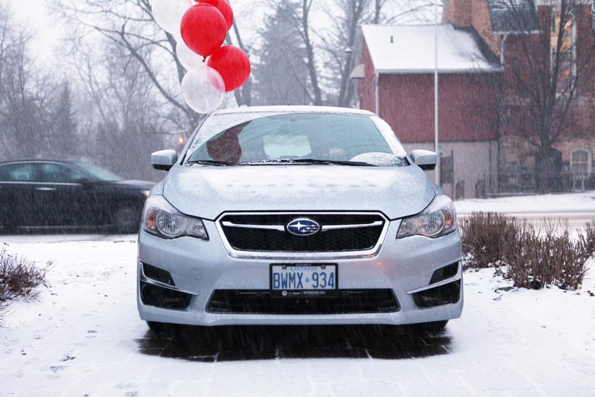 What makes a Subaru a Subaru? Love!