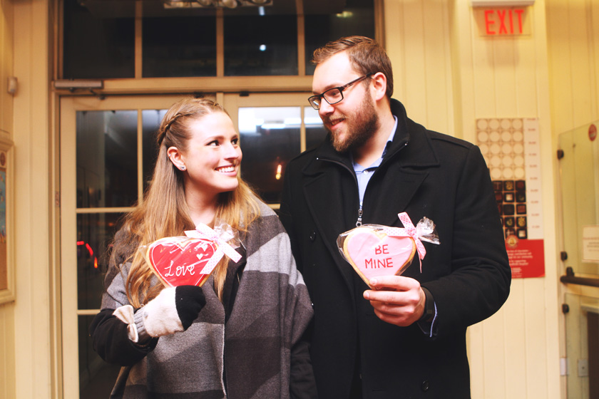 Velentine's Day date night photo
