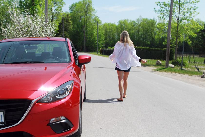 Mazda3 road trip photo