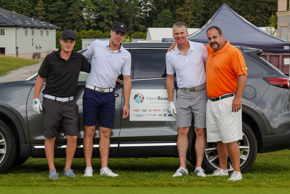 Connor McDavid at NewRoads Charity Golf Tournament