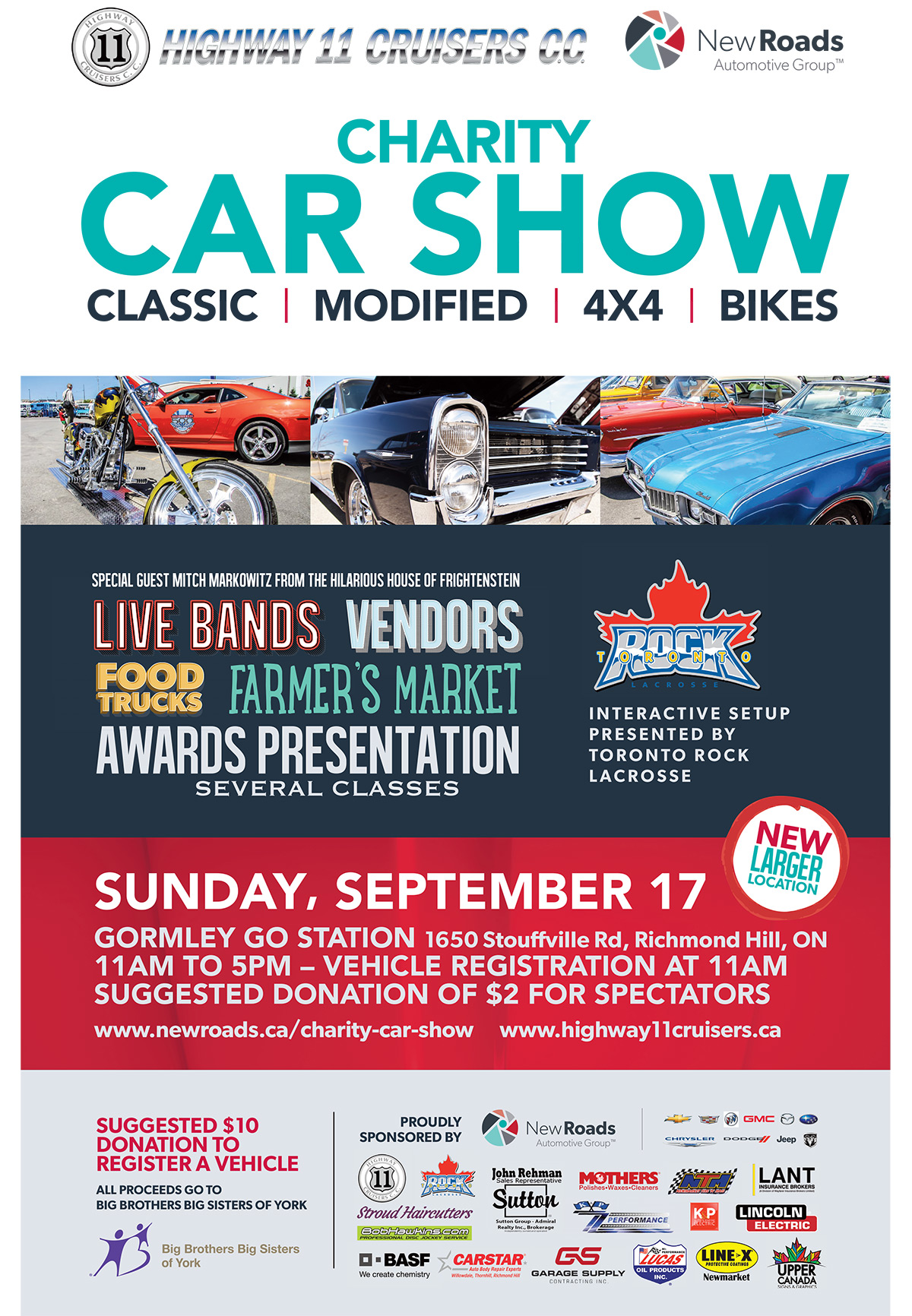 Charity Classic Car Show - Richmond Hill, Ontario