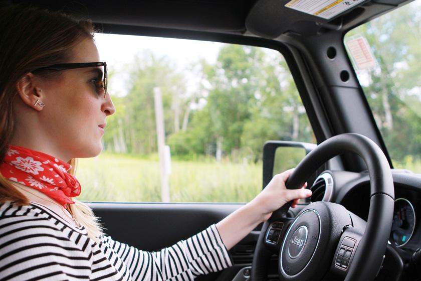 2016 Jeep Wrangler road trip