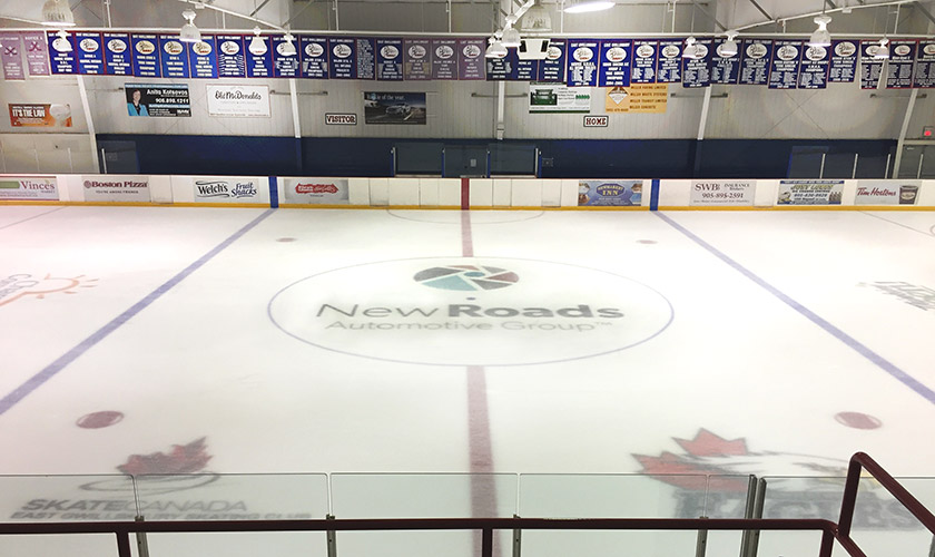 NewRoads Sponsorship East Gwillimbury Sports Complex