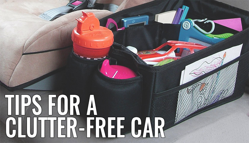 Tips for a Clutter-Free Car