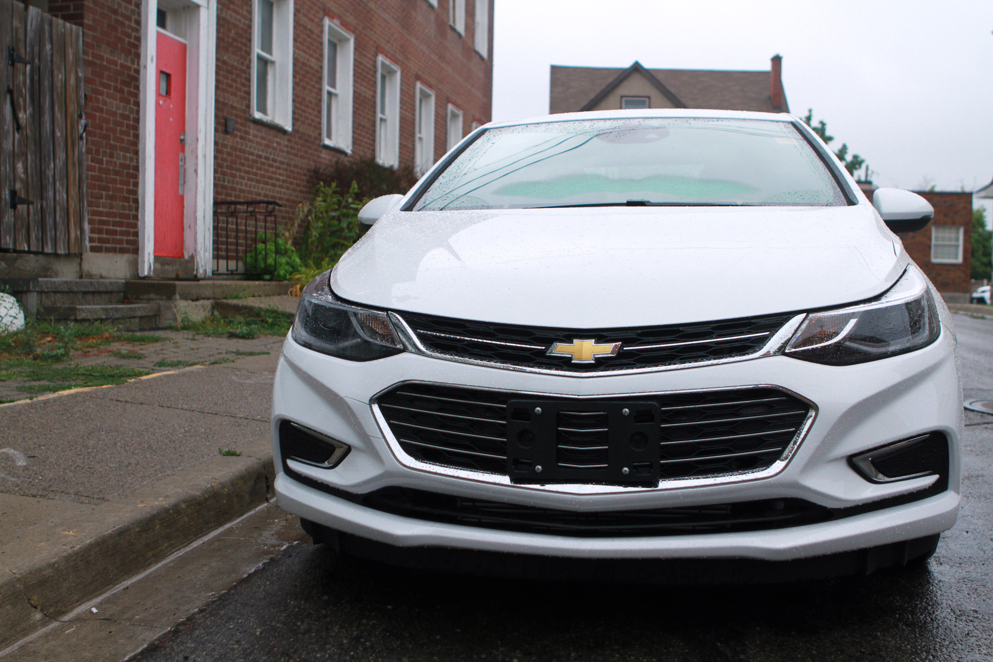 Chevy Cruze front grill