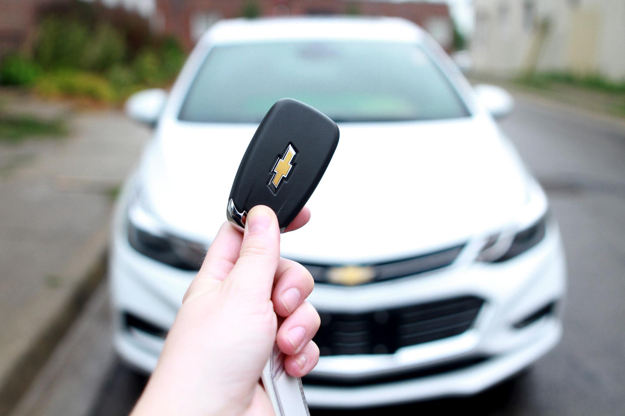2016 Chevrolet Cruze keyless remote