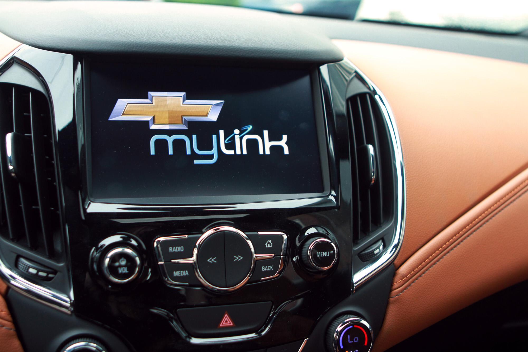 Chevrolet MyLink infotainment
