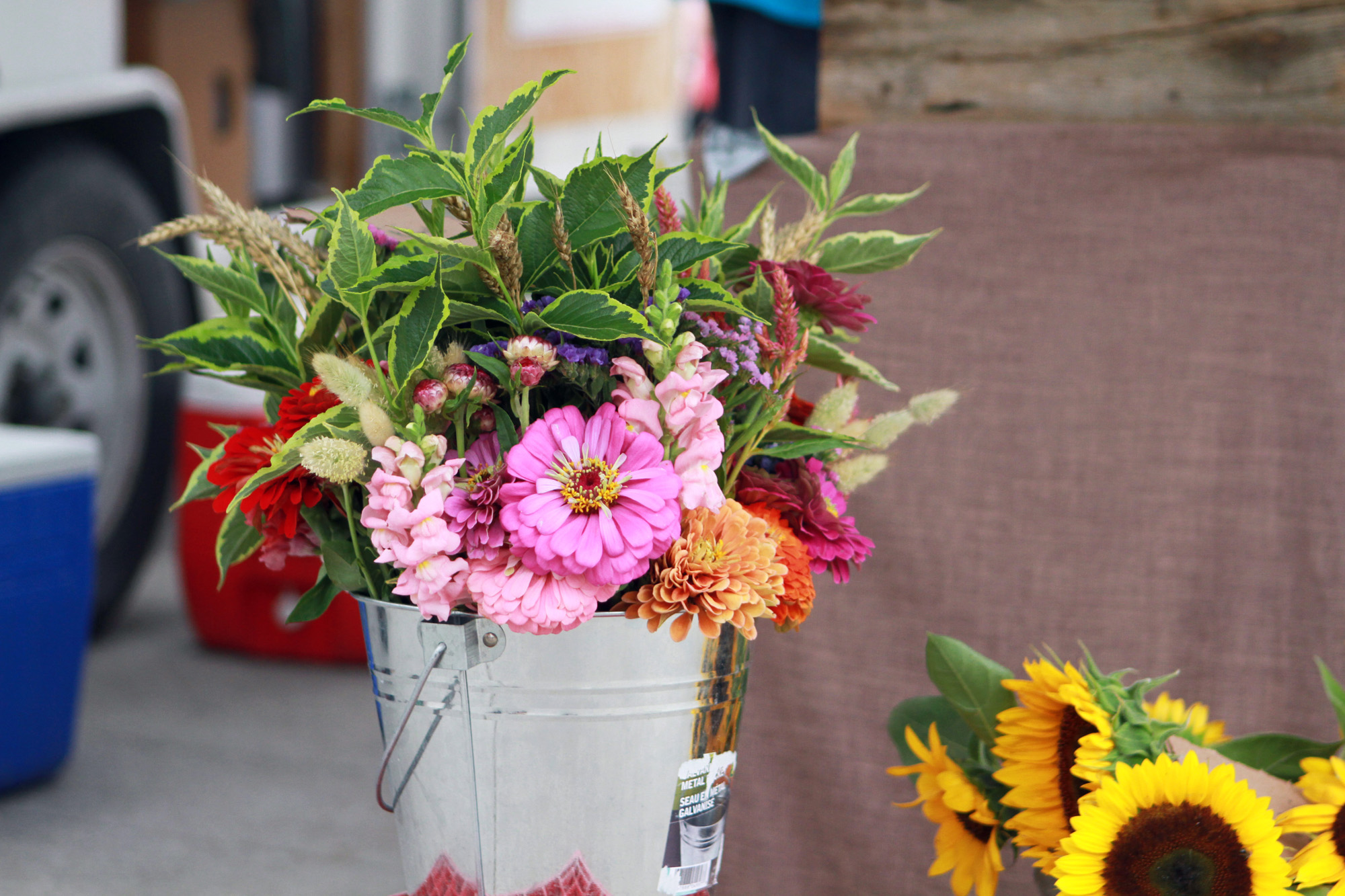 Newmarket Farmer's Market flowers