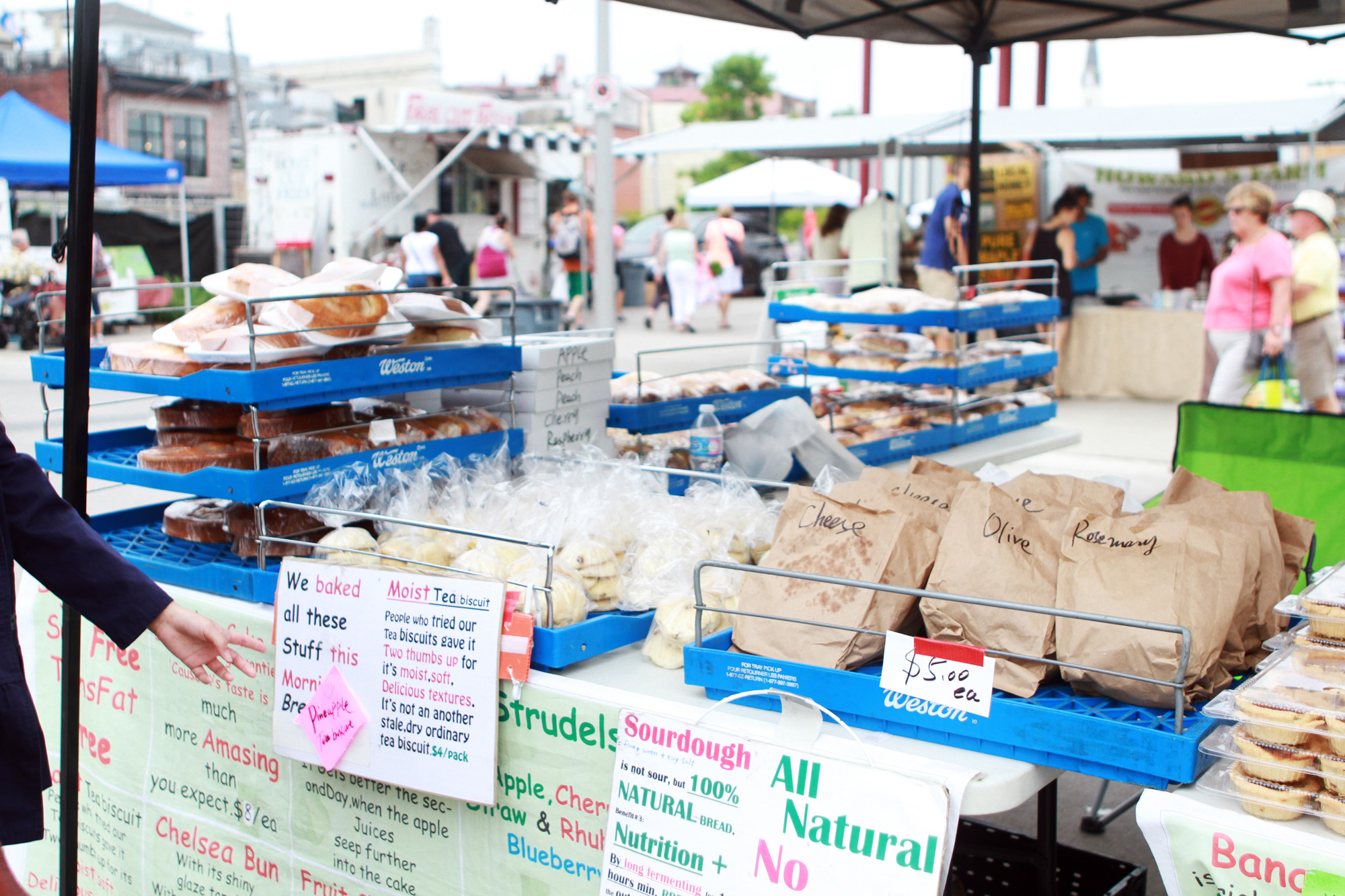 Farmer's Market in Newmarket