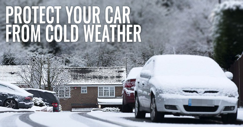 How to protect your car from cold weather
