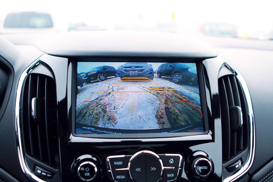 Chevrolet Cruze backup camera