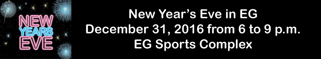 New Years Eve EG Sports Complex