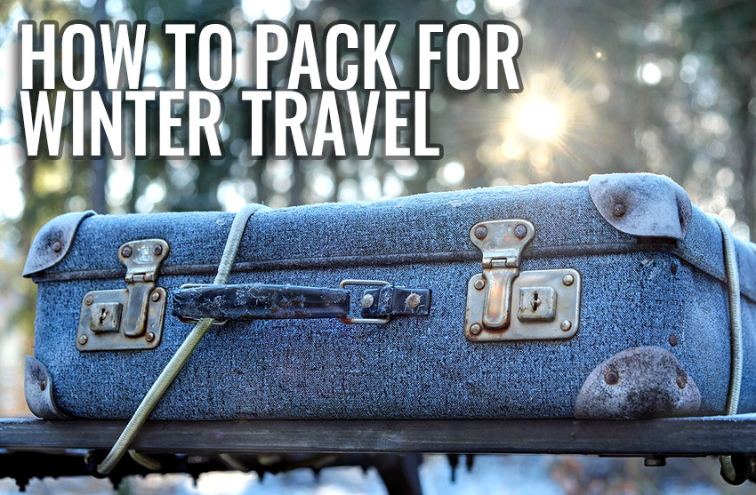 how to pack for travel in winter