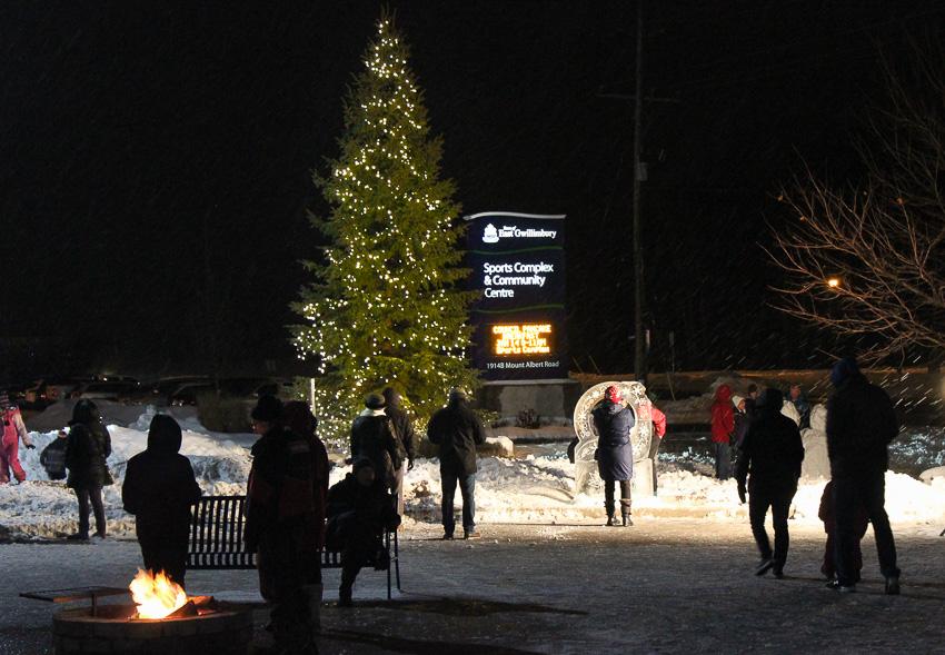 NYE East Gwillimbury Christmas Tree