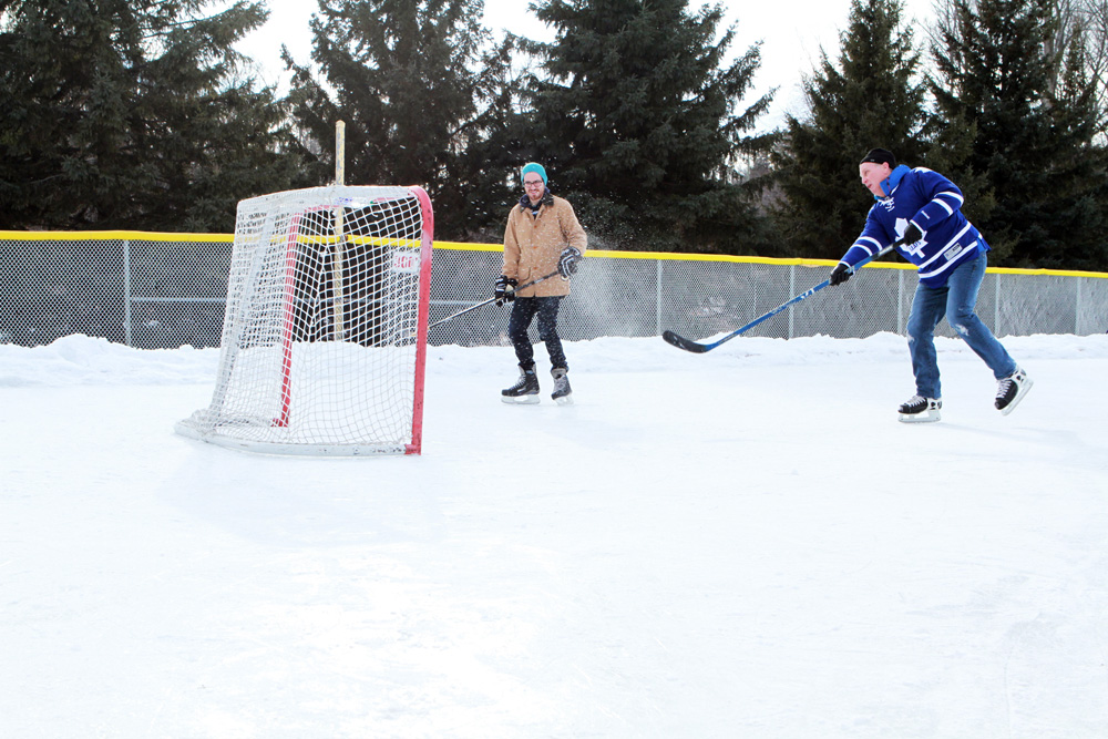 Whipper Billy Watson Park ice rink in Newmarket
