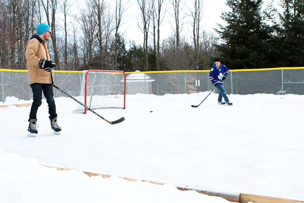 Whipper Billy Watson outdoor rink