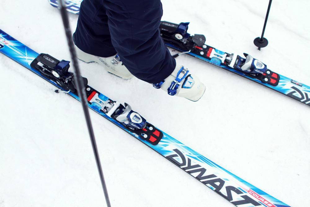 Ski boot and ski