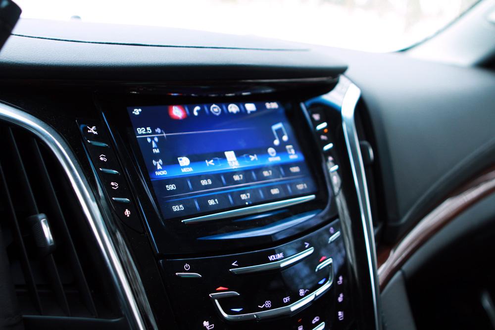 Cadillac infotainment