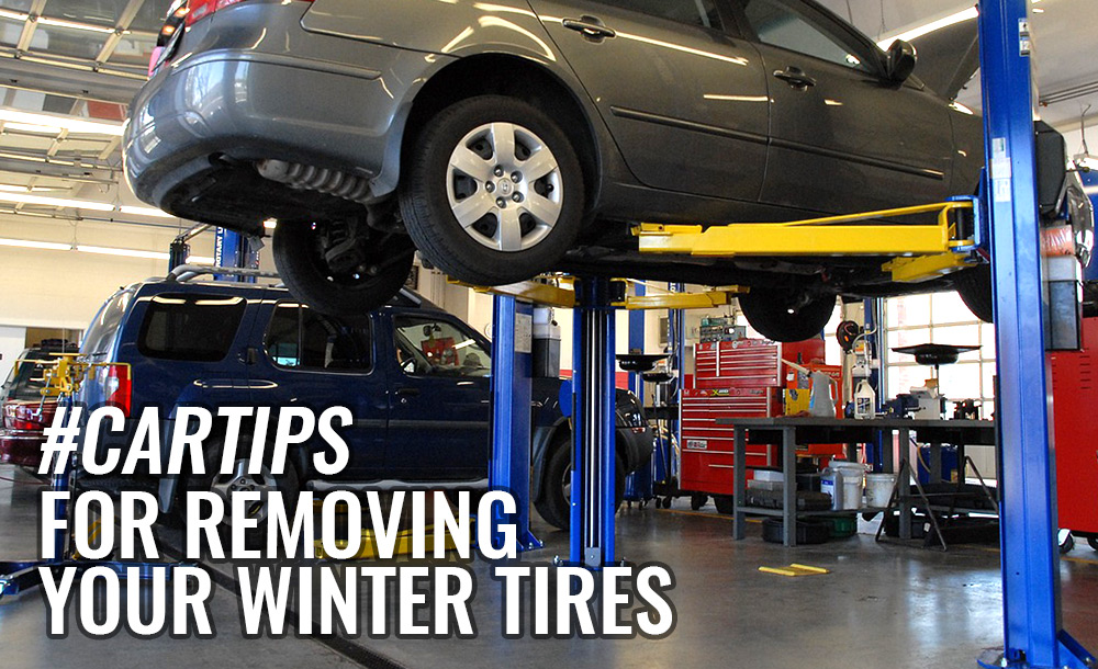 Tips for Removing your Winter Tires