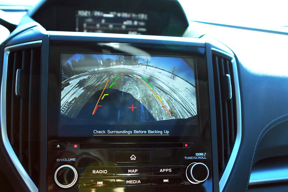 Impreza rear view camera