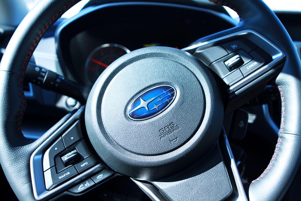 Impreza steering wheel