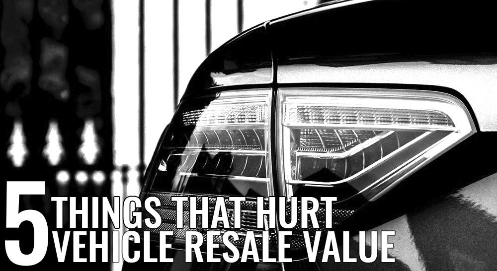 Car Resale Value Tips