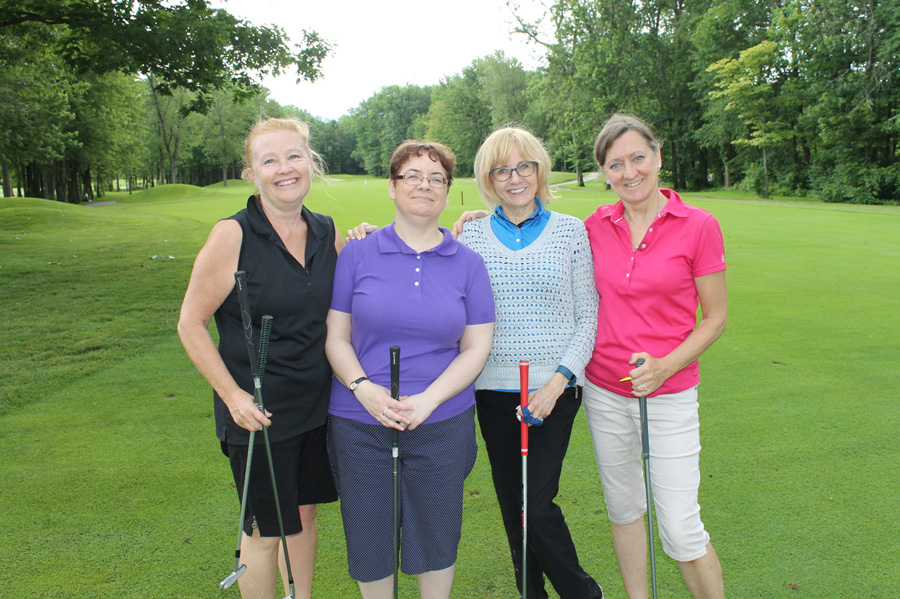 Karen, Trudy, Judith & Maureen enjoying some golf at Silver Lakes Golf Course