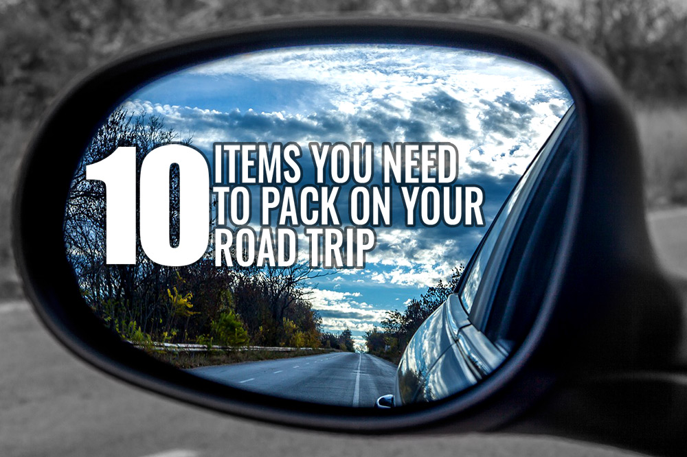 Road trip packing tips