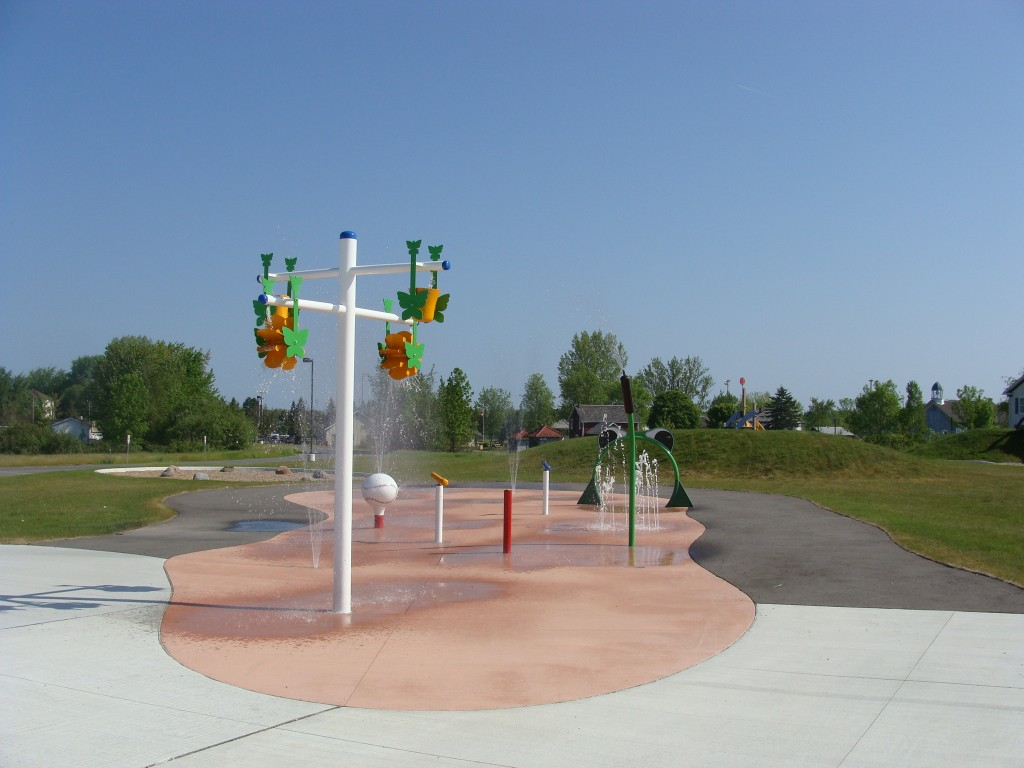 Summer Splash pad york region