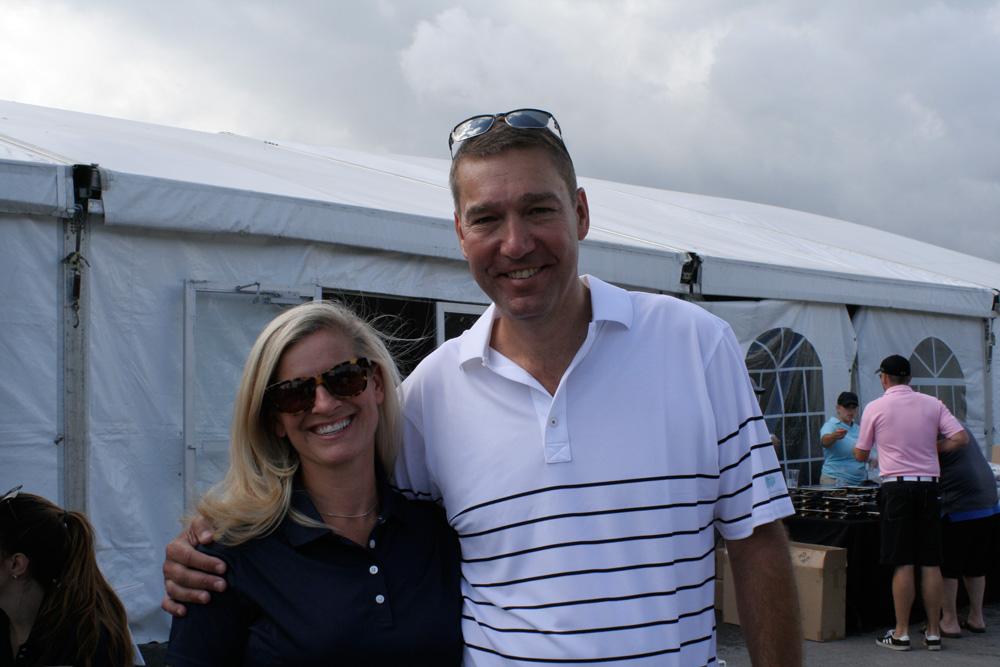 John Taylor at NewRoads Childrens Dream Golf Tournament
