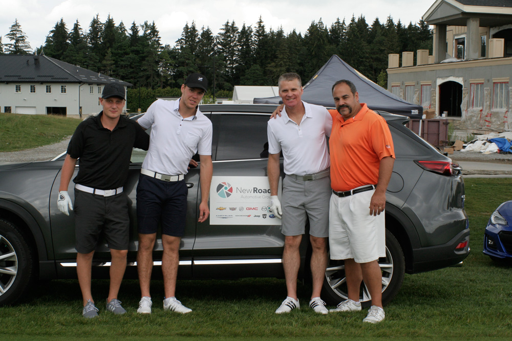 Connor McDavid at NewRoads Childrens Dream Golf Tournament