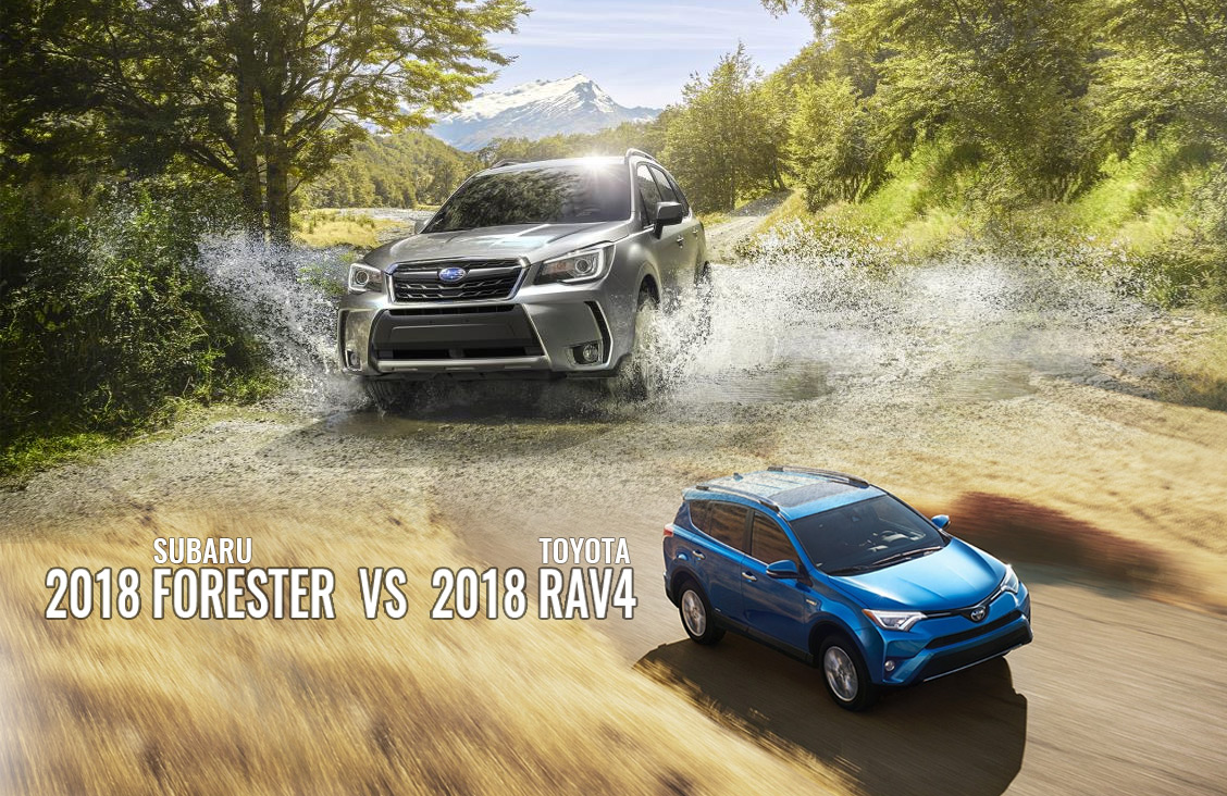 2018 Subaru Forester vs Toyota RAV4