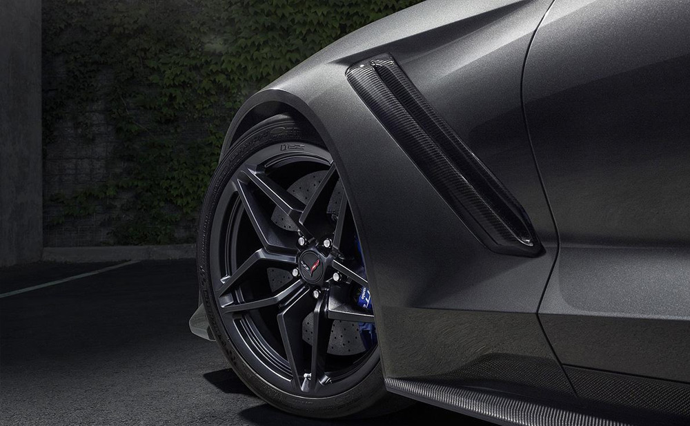 2019 Chevrolet Corvette ZR1 wheels