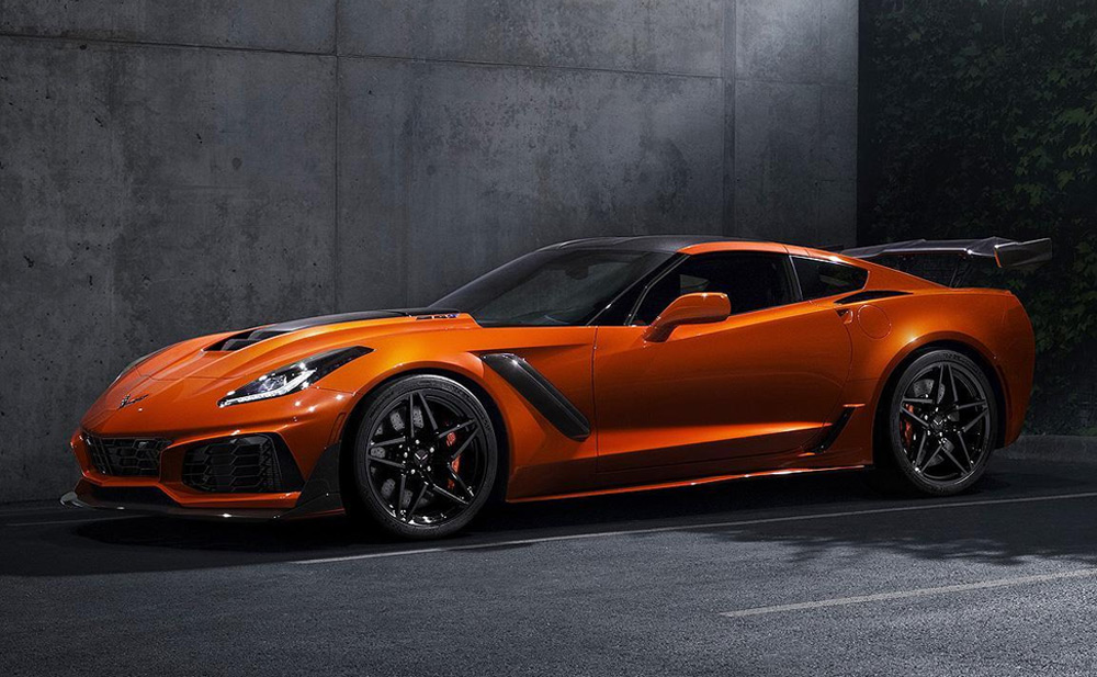 Sebring Orange 2019 Chevy Corvette ZR1
