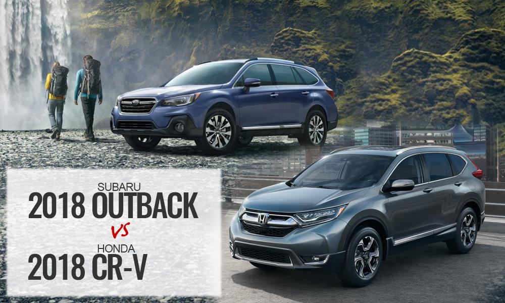 2018 Honda CRV vs Subaru Outback