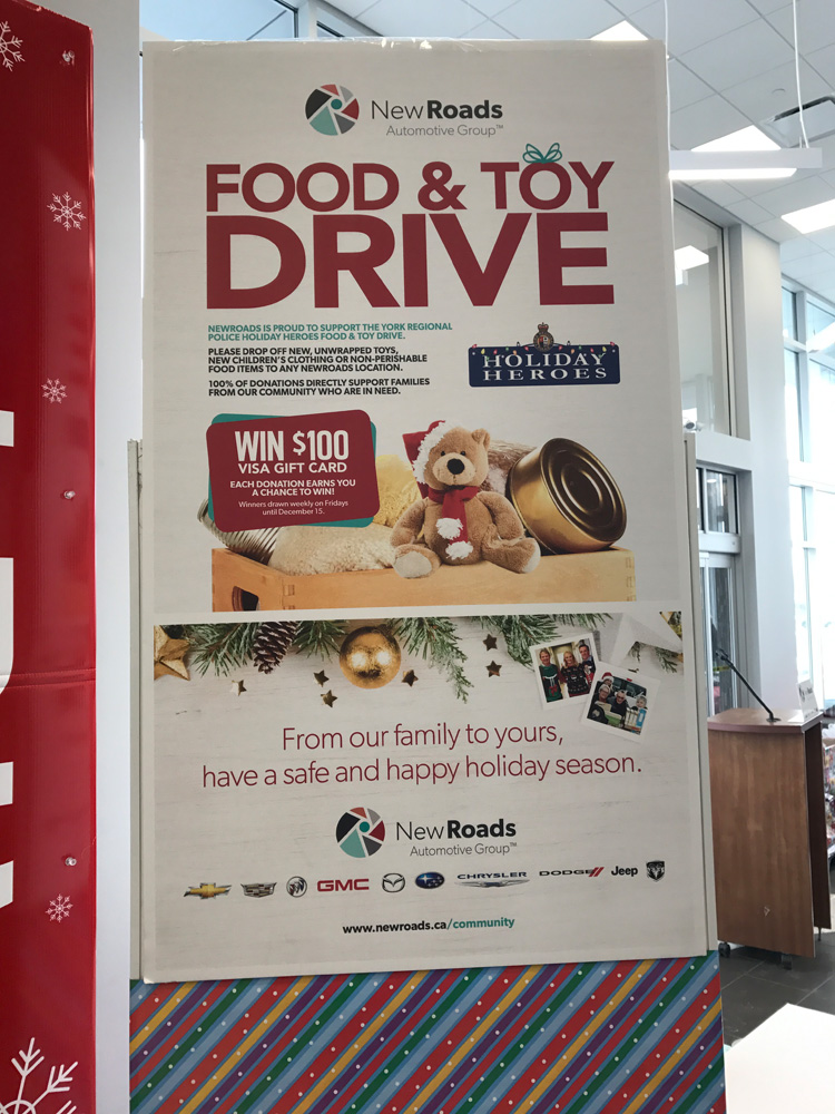 Holiday Heroes Toy and Food Drive