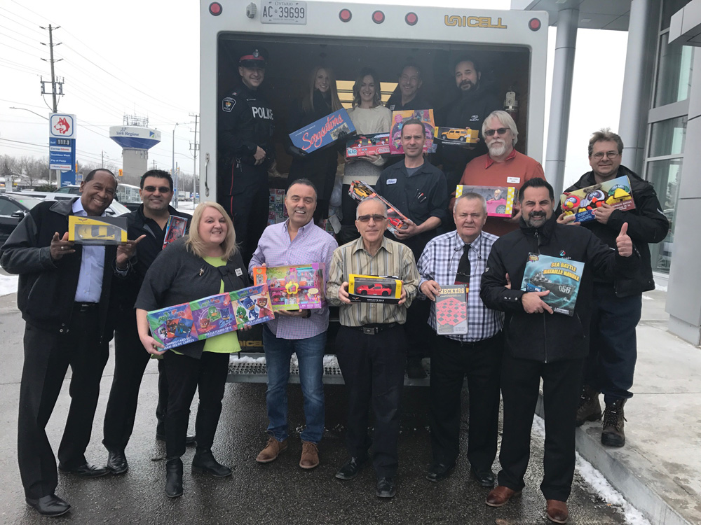 NewRoads GM Food and Toy Drive
