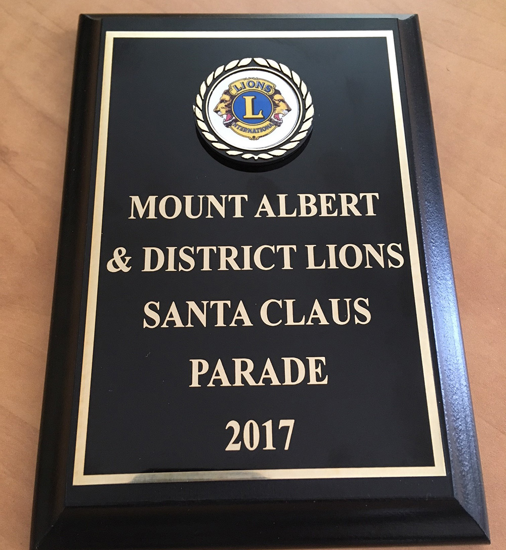 We're proud to brag about our float winning an award as well!  Yay team!