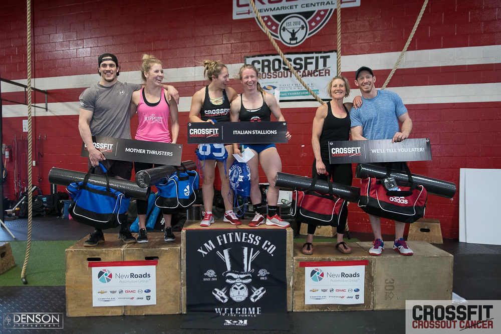 Crossfit Crossout Cancer Newmarket
