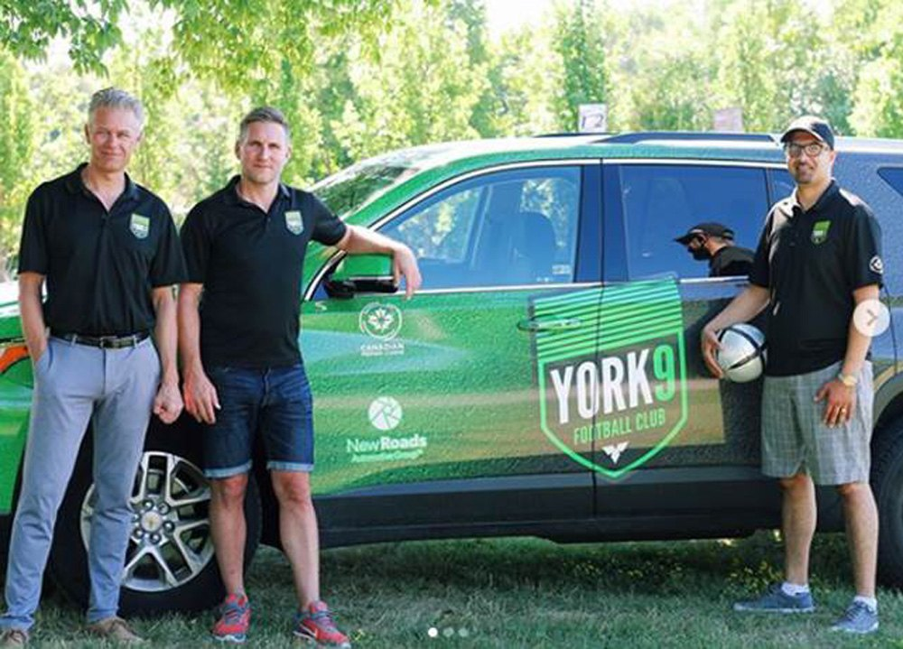 NewRoads sponsors York 9 FC