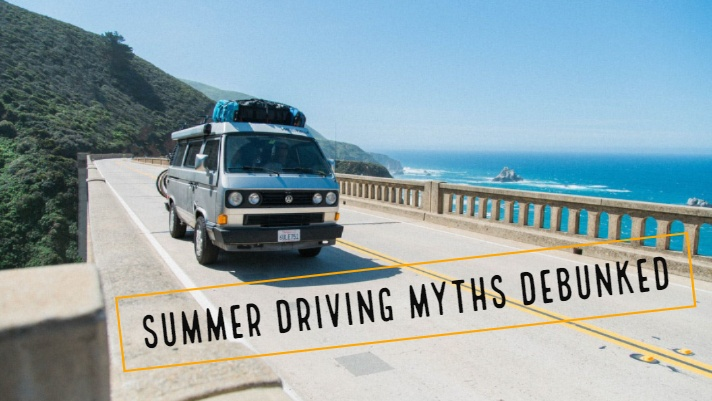 summer driving myths debunked