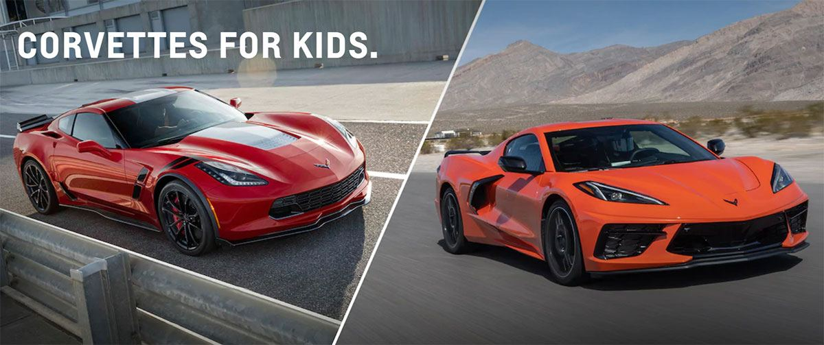 Sharon's Kids Corvettes for Kids
