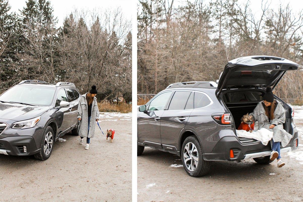 Subaru Outback road trip